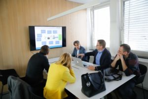 X5GON presentation at new Post Office of Slovenia office spaces