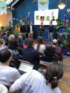 X5GON final hackathon, British Embassy in Paris
