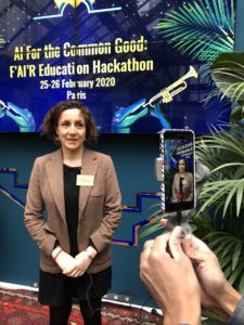 X5GON final hackathon, Louisa Zanoun, Senior Science and Innovation Adviser at British Embassy in Paris